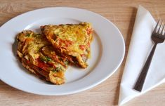 Μελιτζάνες με αυγά στον φούρνο - cretangastronomy.gr Eggplant Recipes, Greek Recipes, Lasagna, Vegan Vegetarian, Meat, Chicken, Cooking, Ethnic Recipes, Food