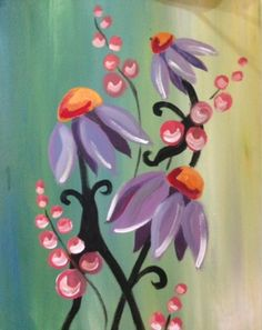 So pretty.  From Paint Nite