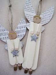 DIY Popsicle stick angel ornaments for a tree or to hang off a present., DIY and Crafts, DIY Popsicle stick angel ornaments for a tree or to hang off a present. Good idea for Christmas . Christmas On A Budget, Christmas Crafts For Kids, Christmas Angels, Christmas Projects, Holiday Crafts, Christmas Holidays, Christmas Gifts, Christmas Decorations, Christmas Ornaments