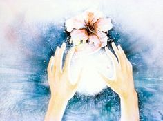 Healing Hands    In Qi Gong, the ball of energy is cultivated by doing specific exercises and movement.  Here the energy is made visible.  It is light force, infused by intention and used for healing ourselves and the planet.     Evokes: Healing power