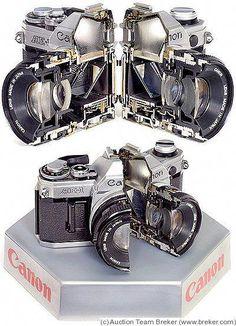 Canon: Canon Cutaway Price Guide: estimate a camera value Antique Cameras, Old Cameras, Vintage Cameras, Canon Cameras, Nikon, Canon 35mm, Photography Lessons, Photography Camera, Pregnancy Photography