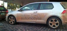 Novo Golf 7 duas portas é flagrado no Brasil