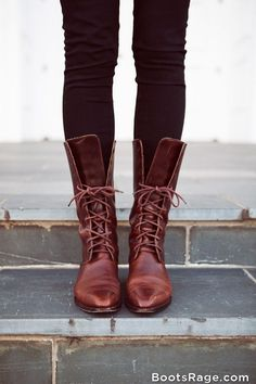 Mid Calf Brown Women Boots 2013 - Women Boots And Booties