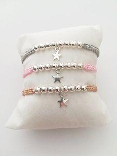 Woman Bracelet, Girl Bracelet, Adjustable Bracelet, Macrame Bracelet, Star - Women's style: Patterns of sustainability Bracelet Crafts, Macrame Bracelets, Jewelry Crafts, Macrame Knots, Macrame Bracelet Patterns, Macrame Bag, Seed Bead Bracelets, Macrame Patterns, Jewelry Ideas