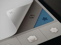 Qiwy IOS app curl test | Designer: Mikael Eidenberg