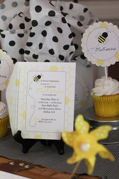 Bumble Bee Birthday/Shower Invitation or Birth by theenglishpea, $23.50