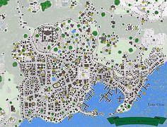 Jendar - city of adventure. From the Gazetteer of Ilshara: Lands of Exil