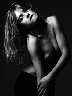 Natalia Vodianova by Hedi Slimane, London, September 2009