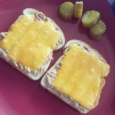 Tuna and Cheese Melt from @calbond007