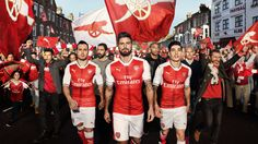 Arsenal and PUMA reveal new home kit