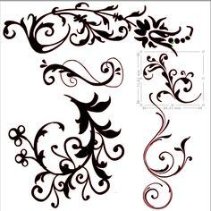Sapin Dessin Design Sticker Mural De Noel Moderne Stylise