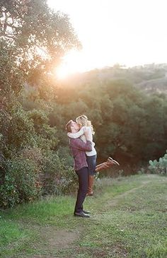 Rustic Engagement Photos
