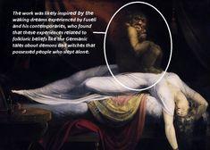The Nightmare - PINACOTHECA Romanticism, Vincent Van Gogh, Metropolitan Museum, Impressionism, Paris France, Renaissance, Oil On Canvas, Fine Art, Reading
