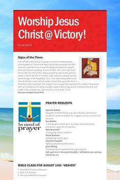 Worship Jesus Christ @ Victory!