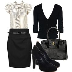 A fashion look from October 2009 featuring Miss Selfridge blouses, Forever 21 skirts und DV by Dolce Vita pumps. Browse and shop related looks.