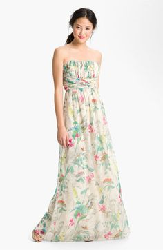 Ted+Baker+London+'Parisian+Birdie'+Print+Maxi+Dress+available+at+#Nordstrom