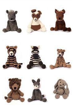Crochet animals eBook