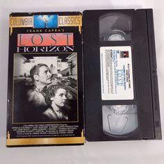Lost Horizon VHS 1989 Columbia Classics Ronald Coleman Jane Wyatt