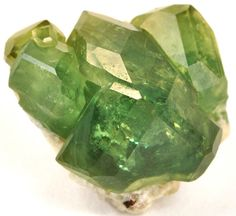 Demantoid from Madagascar. Demantoid garnet is the rarest form of garnet and most expensive. It is the most valued of all garnets. Stones by loracia Minerals And Gemstones, Crystals Minerals, Rocks And Minerals, Stones And Crystals, Gem Stones, Granada, 1 Karat, Gemstone List, Rocks And Gems