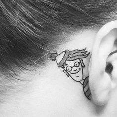 So THAT'S where he's been!   31 Joke Tattoos You Won't Believe Actually Exist