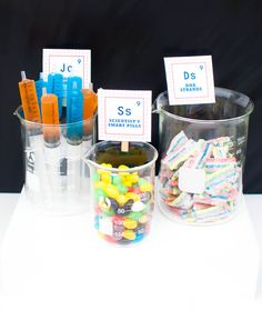 Science Birthday Party Ideas | Photo 1 of 24 | Catch My Party