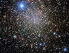 This image shows the globular cluster NGC 6380, which lies around 35,000 light-years from Earth, in the constellation Scorpio (the Scorpion). Nasa, Herschel, Hubble Deep Field, Globular Cluster, Saturns Moons, Theme Tattoo, Dwarf Planet, Hubble Images, Hubble Space Telescope