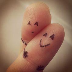 U&I  #fingerart