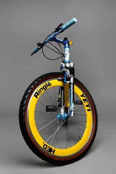 Cycling Art, Cycling Bikes, Cycling Quotes, Cycling Jerseys, Vintage Cycles, Vintage Bikes, Vintage Sport, Yeti Mtb, Yeti Cycles