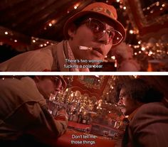 Fear and Loathing in Las Vegas Johnny Depp Roles, Johnny Depp Images, Las Vegas Quotes, Hunter Thompson, Fear Of Love, Fear And Loathing, Hunter S, Film Quotes, People Talk