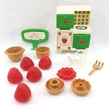 Vintage STRAWBERRY SHORTCAKE Playset Replacement Parts BERRY BAKE SHOP Kenner #4