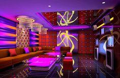 KTV room 3d rendering