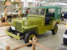 Meet the very first 4x4 Toyota ever built in 1954. The US Military requested Japan to build them a 4x4 for the US troops stationed there post WWII. As you can see Toyota was heavily influenced by the Willys Jeep at the time and soon changed direction by the late 50's to what is now the legendary FJ40 Land Cruiser.