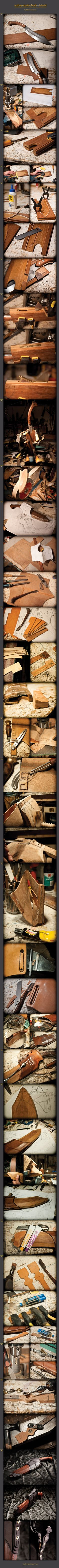 wooden sheath tutorial by WSi.deviantart.com on @deviantART