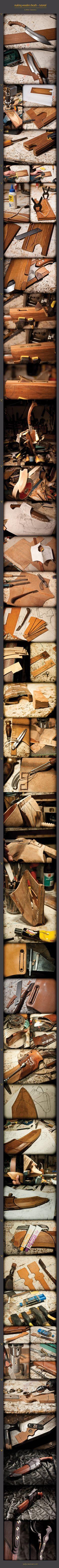 wooden sheath tutorial by WSi.deviantart.com on @deviantART