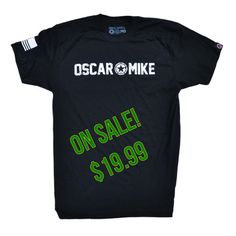 532040b60ac35f Men s T-shirt - Oscar Mike. Crossfit ClothesBarbellSavage