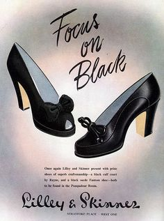 One can never go wrong with a classic bow adorned pair of black pumps. I'd buy these right now :)