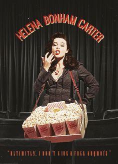 Helena Bonham Carter - Vintage Poster