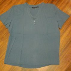 Blouse Greyish bluish blouse  Great condition  No flaws  Size XXL Tops Blouses