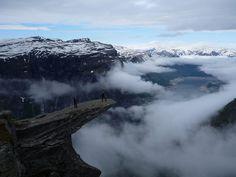 Trolltunga! Odda, Norway. by xTorfinnx, via Flickr