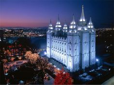 The Salt Lake Temple    he Salt Lake Temple, the sixth temple built by the church overall, and the fourth operating temple, is the largest and best-known temple of The Church of Jesus Christ of Latter-day Saints.