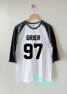 Nash Grier shirts Grier 97 tshirt Clothing High Quality Screen