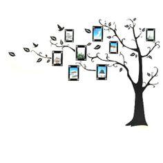 Aokin Large Black Photo Picture Frame Tree Vine Branch Removable Wall Decor Decal Sticker Xl Left Facing Aokin,http://www.amazon.com/dp/B00D2U6I88/ref=cm_sw_r_pi_dp_rd9jtb133MAHM4DY