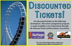 one day ticket to six flags