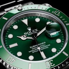 Green Rolex Sub - something about green that really appeals