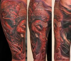 35 Hindu tattoo designs that will give you some inspiration and insight into the weird and wonderful culture of the Hindu way of life. Gods Tattoo, Shiva Tattoo, Tattoo Designs For Women, Tattoos For Women, Roses Tatoo, Hindu Tattoos, Dark Pop, Yoga Tattoos, Infinity Dress