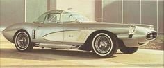 Chevrolet Corvette XP-700, 1958