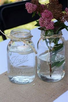 Christening table decor