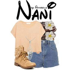 Nani by annabelle-95 on Polyvore featuring Elizabeth and James, Topshop and ZiGiny