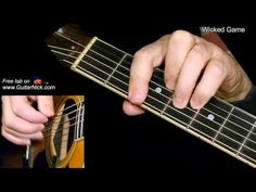 Pocket: WICKED GAME: Fingerstyle Guitar Lesson + TAB by GuitarNick