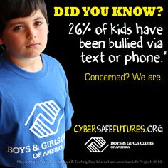 Have you seen the warning signs? Starting a conversation with your kids is a great first step toward keeping them cyber safe.